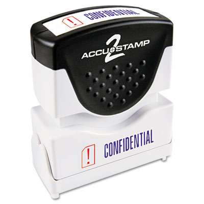 Cosco 035536 ACCUSTAMP2 Pre-Inked Shutter Stamp with Microban