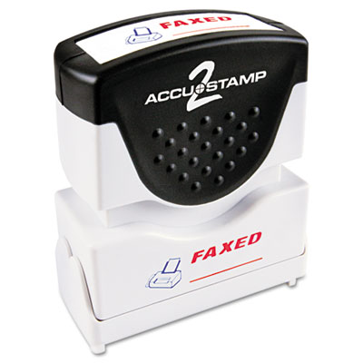 Cosco 035533 Accustamp2 Pre-Inked Shutter Stamp with Microban