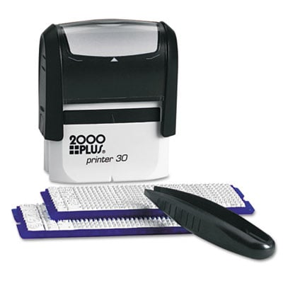 COSCO 030600 2000 PLUS Create-A-Stamp One-Color Address Kit