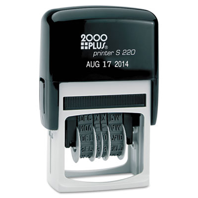 2000 PLUS 010129 Economy Self-Inking Dater