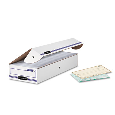 Fellowes 00706 Bankers Box STOR/FILE Check Boxes