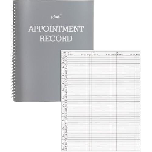 Dome 40977 Undated Spiral Appointment Book