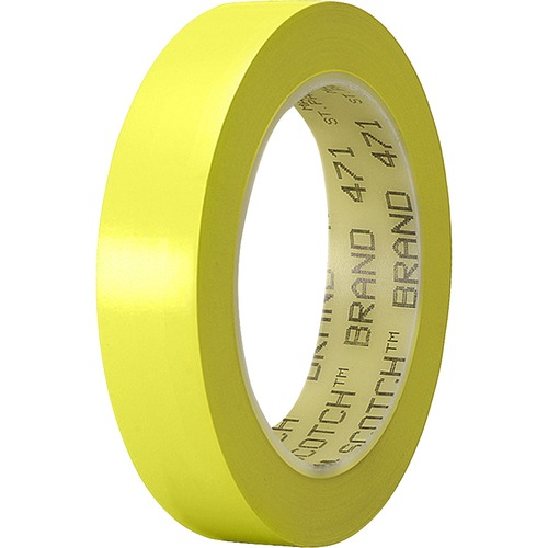 3M 4711YE Yellow Vinyl Marking Tape