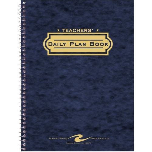 Roaring Spring 12144 Teacher's Daily Planners