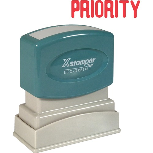 Xstamper 1033 Pre-Inked PRIORITY Message Stamp