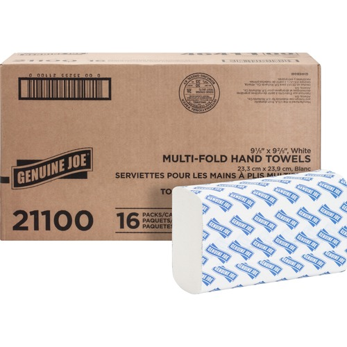 Genuine Joe 21100 Multifold Towels