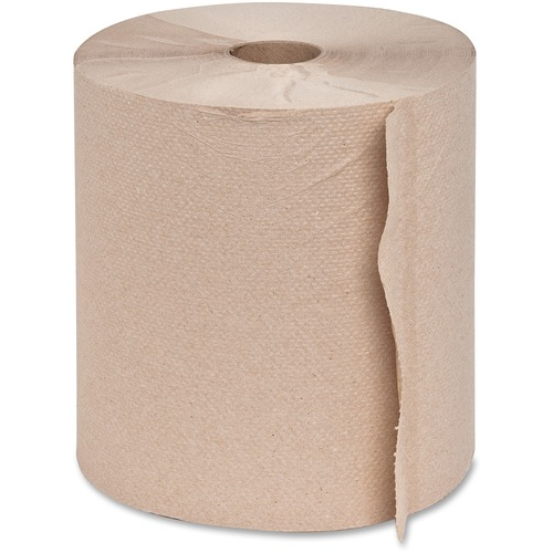 Genuine Joe 22600 Embossed Hardwound Roll Towels