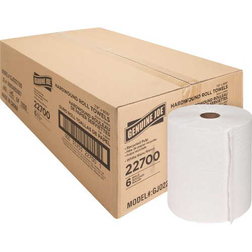 Genuine Joe 22700 Hardwound Roll Paper Towels