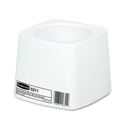 Rubbermaid Commercial 631100WE Commercial-Grade Toilet Bowl Brush Holder