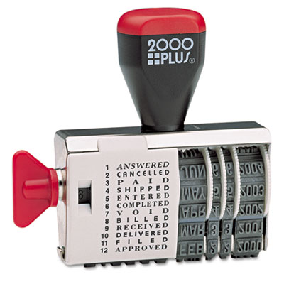 2000 PLUS 010180 COSCO 2000PLUS Dial-N-Stamp