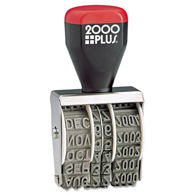 Cosco 012731 2000 PLUS Traditional Date Stamp