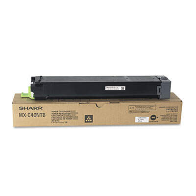 Sharp MXC40NTB Black Toner Cartridge