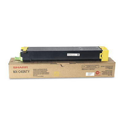 Sharp MXC40NTY Yellow Toner Cartridge