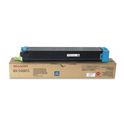 Sharp MXC40NTC Cyan Toner Cartridge
