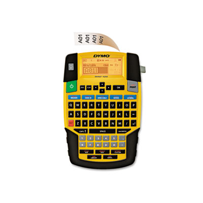 DYMO 1801611 Rhino 4200 Basic Industrial Handheld Label Maker