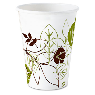 Dixie 58PATH Pathways Wax Treated Paper Cold Cups