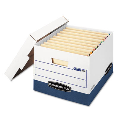Bankers Box 00709 STOR/FILE END TAB Storage Boxes