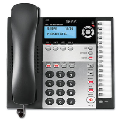 Vtech Communications 1040 AT& T Corded Four-Line Expandable Business Phone System
