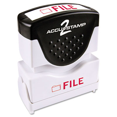ACCUSTAMP2 035576 Pre-Inked Shutter Stamp with Microban