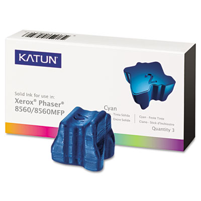 Katun 37991 Cyan Solid Ink Stick Cartridge