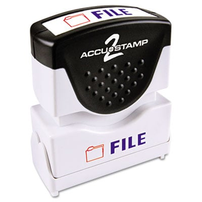 Cosco 035534 Accustamp2 Pre-Inked Shutter Stamp with Microban