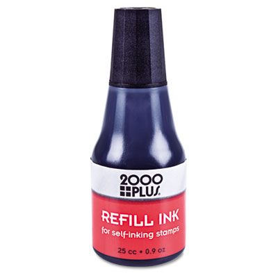 Cosco 032962 2000 PLUS Self-Inking Refill Ink
