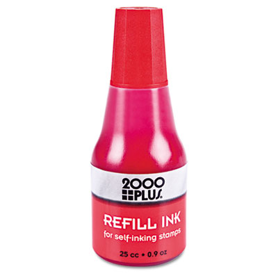 Cosco 032960 2000 PLUS Self-Inking Refill Ink