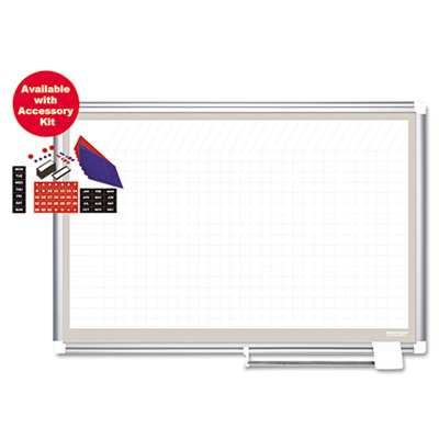 Bi-Silque Visual Communication Products CR0832830A MasterVision All Purpose Planner Board