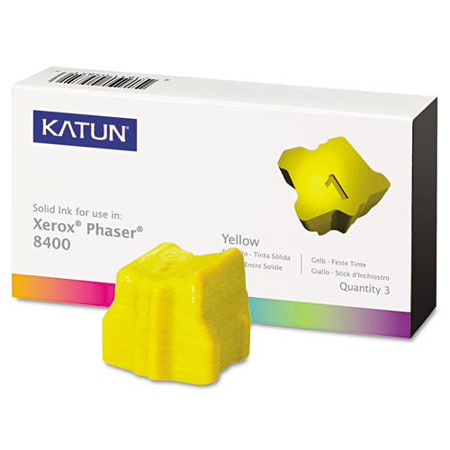 Katun 38706 Yellow Solid Ink Stick Cartridge