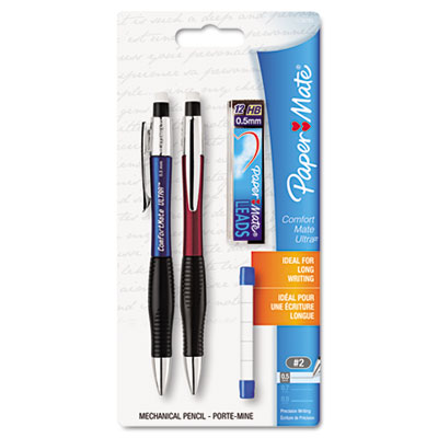 Sanford 1738795 Paper Mate ComfortMate Ultra Pencil Starter Set