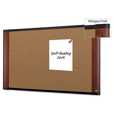 3M C4836MY Widescreen Cork Board