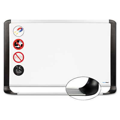 Bi-Silque Visual Communication Products MVI030401 MasterVision Pure Platinum Dry Erase Board