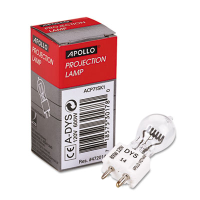 Apollo ADYS Projection & Microfilm Replacement Lamp