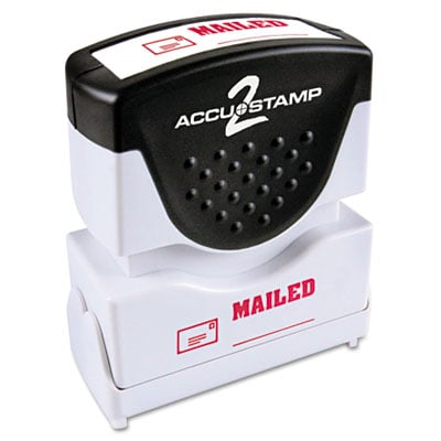 ACCUSTAMP2 035586 Pre-Inked Shutter Stamp with Microban