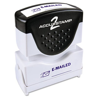 ACCUSTAMP2 035577 Pre-Inked Shutter Stamp with Microban