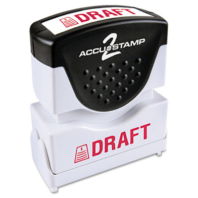 ACCUSTAMP2 035585 Pre-Inked Shutter Stamp with Microban