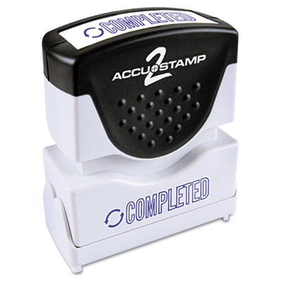 ACCUSTAMP2 035582 Pre-Inked Shutter Stamp with Microban