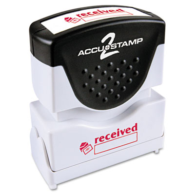 Cosco 035570 Accustamp2 Pre-Inked Shutter Stamp with Microban