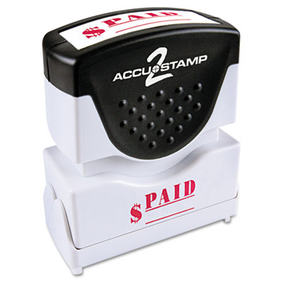 ACCUSTAMP2 035578 Pre-Inked Shutter Stamp with Microban