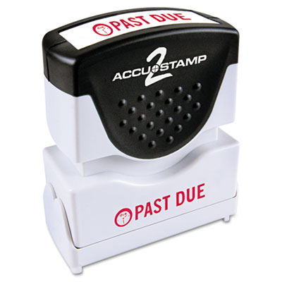 Cosco 035571 ACCUSTAMP2 Pre-Inked Shutter Stamp with Microban