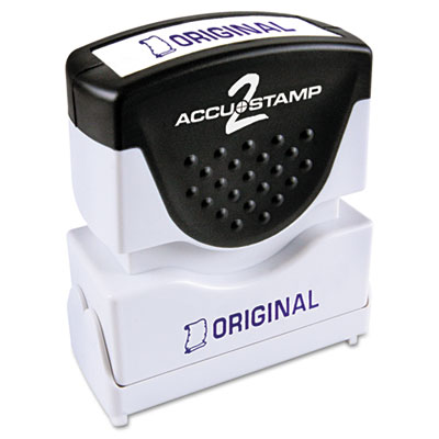 Cosco 035572 ACCUSTAMP2 Pre-Inked Shutter Stamp with Microban