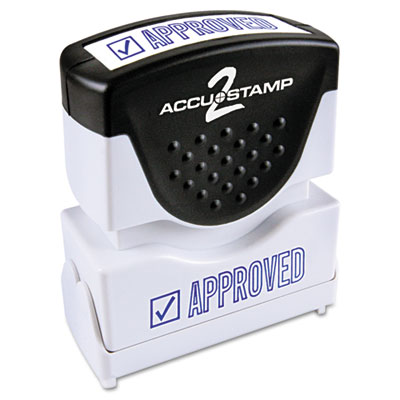 ACCUSTAMP2 035575 Pre-Inked Shutter Stamp with Microban