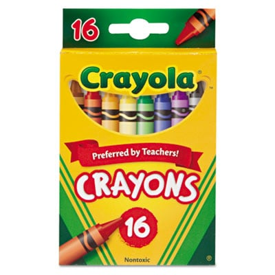 Binney & Smith 523016 Crayola Classic Color Pack Crayons