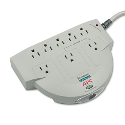APC PRO8 Eight-Outlet Professional SurgeArrest Surge Protector