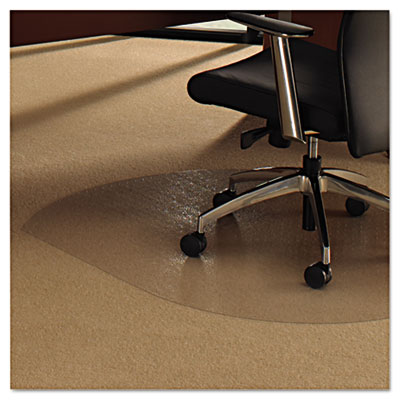 Floortex 119923SR Cleartex Ultimat Polycarbonate Chair Mat For Low Medium Pil