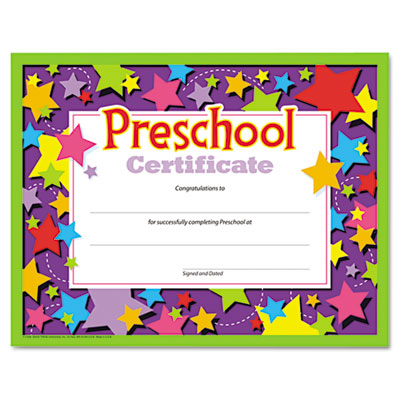 TREND T17006 Colorful Classic Certificates