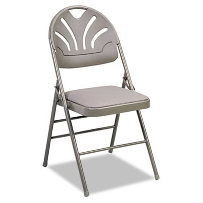 Cosco 36875KNT4 Fanfare Fabric Padded Seat & Deluxe Molded Back Folding Chair