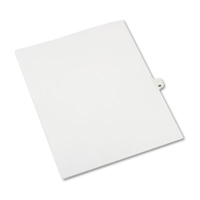 Avery 01040 Preprinted Legal Index Tab Dividers with Black and White Tabs