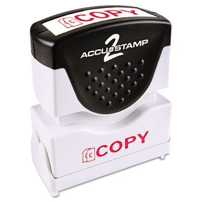 ACCUSTAMP2 035594 Pre-Inked Shutter Stamp with Microban