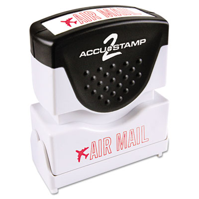 ACCUSTAMP2 035593 Pre-Inked Shutter Stamp with Microban